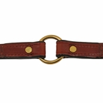 shop 3/4 in. K-9 Komfort Deluxe Leather Center Ring Puppy/Small Breed Collar Inside Ring Detail