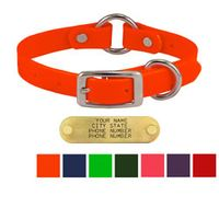 shop Tufflex 3/4 in. Center Ring Puppy / Small Dog Collars