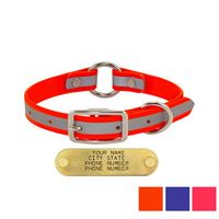 shop 3/4 in. TufFlex Reflective Center-Ring Collars