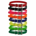 shop 3/4 in. Universal Roller / Double Buckle Replacement Collar Straps