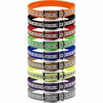 shop 3/4 in. Universal Square Buckle Reflective Collar Strap