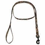shop Max 5 Camo 6 ft. x 3/4 in. 1-ply Nylon Leash