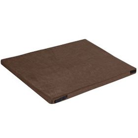 shop 30 in. x 48 in. Bizzy Beds™ Crate Cushion -- Brown