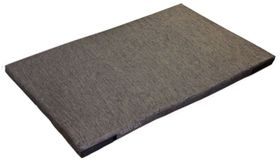 shop 30 in. x 48 in. Bizzy Beds™ Crate Cushion -- Dark Gray