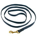 shop 6ft. Nylon Lead Navy Blue