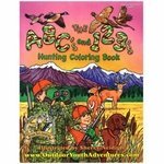 shop ABCs and 123s Hunting Coloring Book
