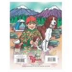 shop ABC's and 123's Hunting Coloring Book back cover
