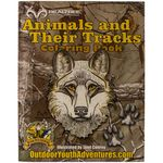 shop Animals and Their Tracks Coloring Book