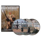 shop Avery Duck Dog Basics 3-disc DVD Set featuring Chris Akin