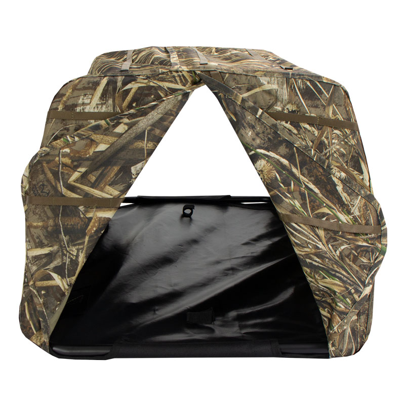 Avery Ground Force Dog Blind Inside Detail