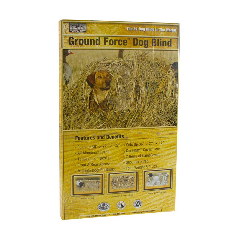 Avery Ground Force Dog Blind Package