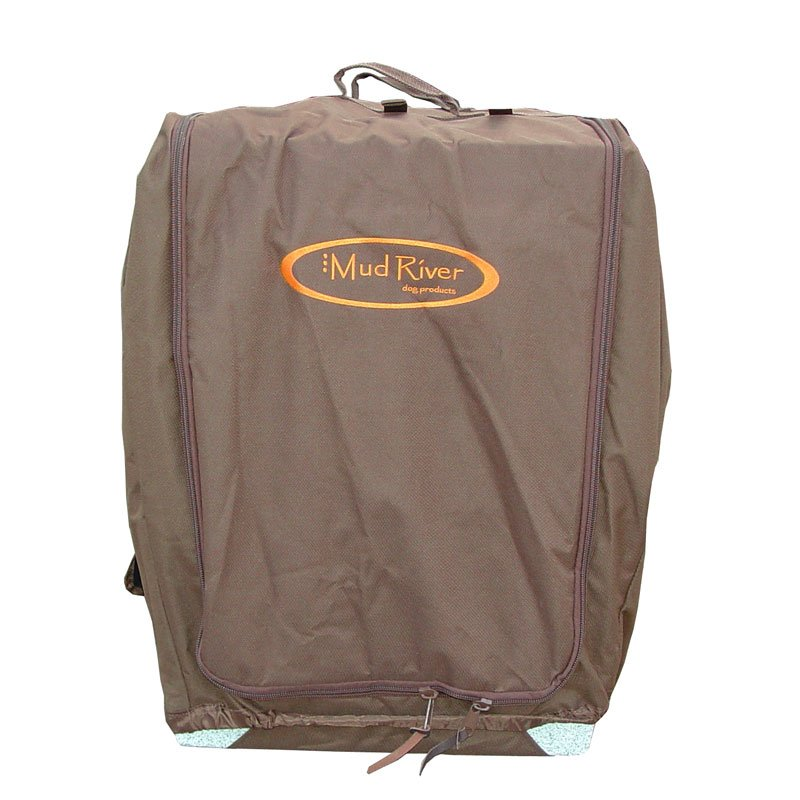 Bedford Kennel Cover Front Flap Closed