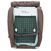 shop Bedford Kennel Cover Front Flap Open