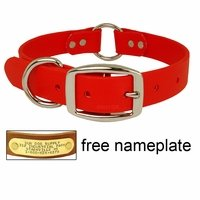 "shop BEST-SELLER: Tufflex 1 in. Center-Ring Dog Collar (1"" Wide)"