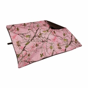 shop EXTRA LARGE Bizzy Beds® Replacement Cover -- Pink Conceal Camo / Coffee Two-Tone