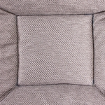 shop Bizzy Bed Light Gray Center Square
