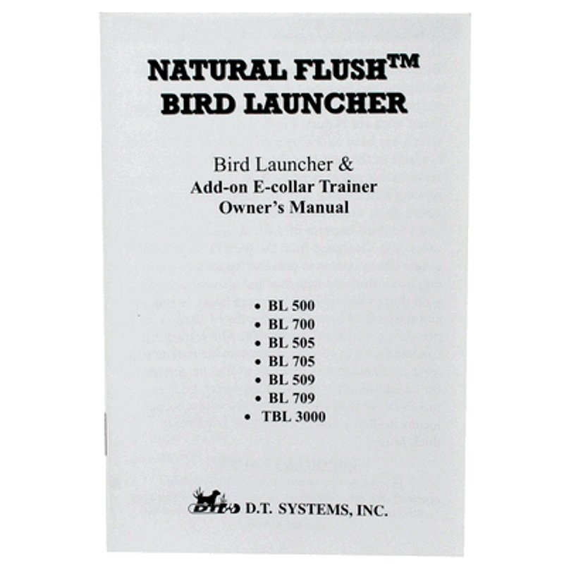 BL 709 Owners Manual