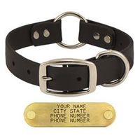 shop BLACK 1 in. TufFlex Center Ring Collar