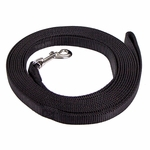shop Black Flat Nylon Webbing Check Cord Rolled