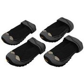 shop CLOSEOUT -- Black Grip Trex Dog Boots by Ruff Wear -- Set of 4