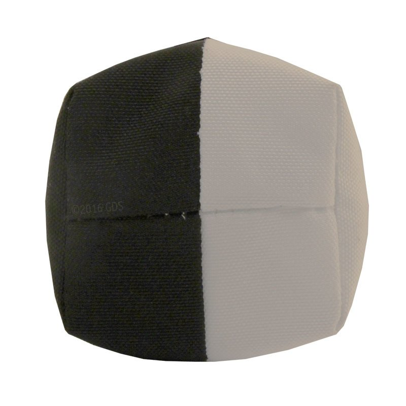 Black / White RRT Canvas Launcher Dummy w/ Tail