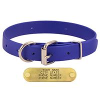 shop BLUE 1 in. TufFlex Dee-End Collar