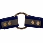 shop Blue TufFlex Reflective Collar Inside Ring Detail