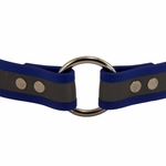 shop Blue TufFlex Reflective Collar Outside of  Ring Detail