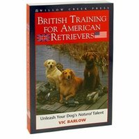 shop British Training for American Retrievers by Vic Barlow
