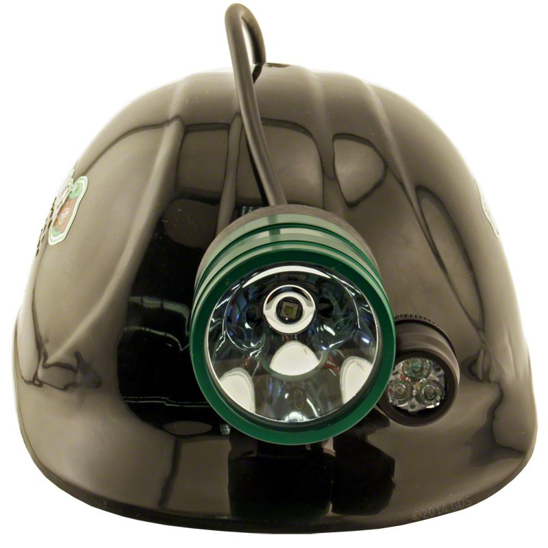 Bump Cap Light with Color Front
