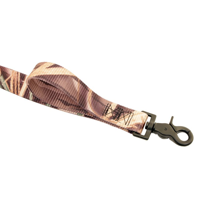 Camo Nylon Lead End Handle Clip with Lead Handle