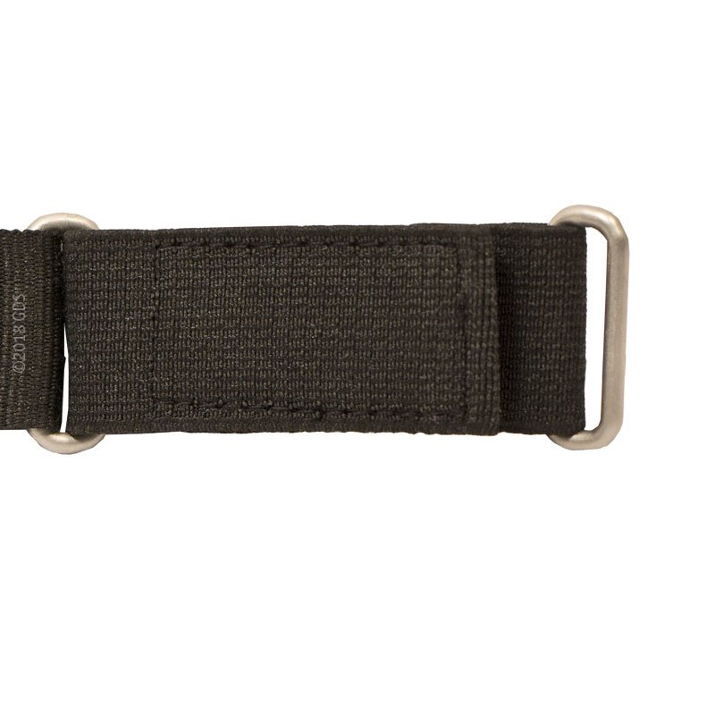 Delta Canine Remote Fabric Wrist Strap Extender Attached