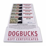 shop Gun Dog Supply Dog Buck$ Gift Certificates