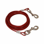 shop OmniPet Vinyl-Coated Steel Dog Tie-Out Cable -- 20 ft.
