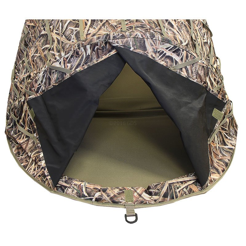 Dog Field Blind Back Open