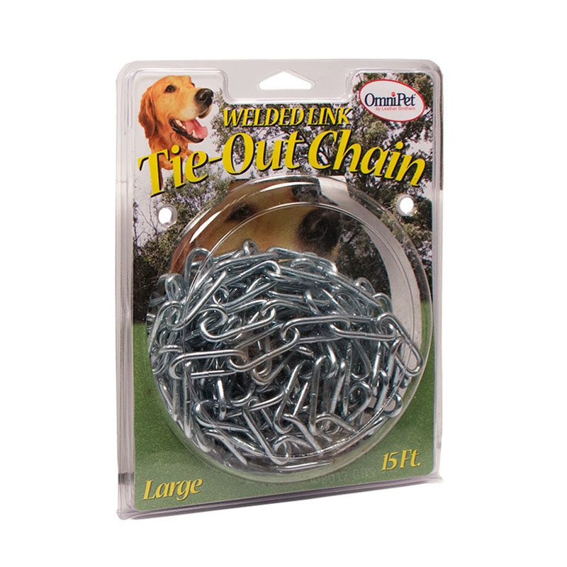 Dog Tie-Out Chain Box -- Large 15 ft. by OmniPet