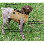 shop Dog Vest In Use w/ Diagram