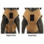 shop Dog Vest Regular vs Broad