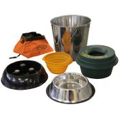 shop Dog Water Bowls, Water Buckets, and Food Bowls