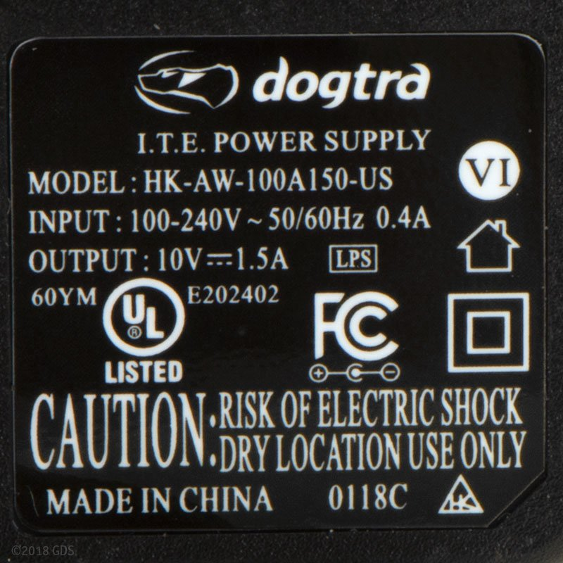 Dogtra 1900S Handsfree Charger Detail