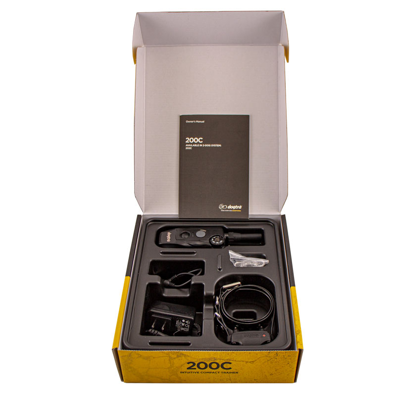 Dogtra 200C Box Open
