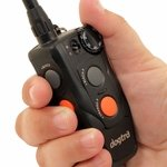 shop Dogtra 202C Transmitter Controls in Hand