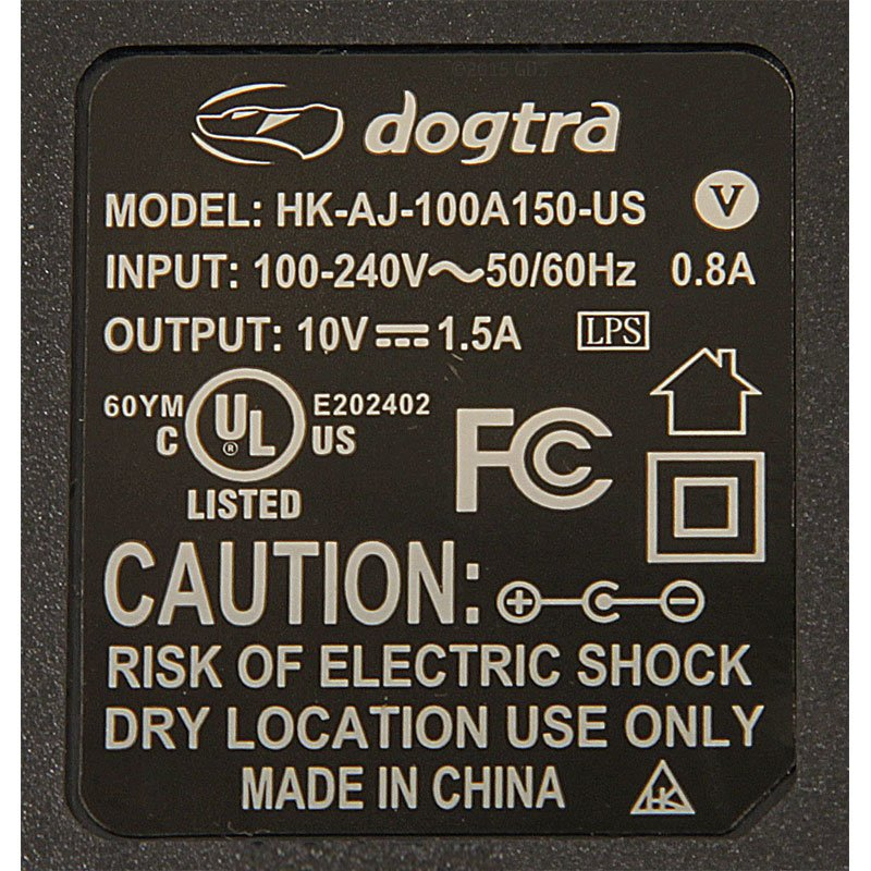 Dogtra 2500 T&B Charger Specs