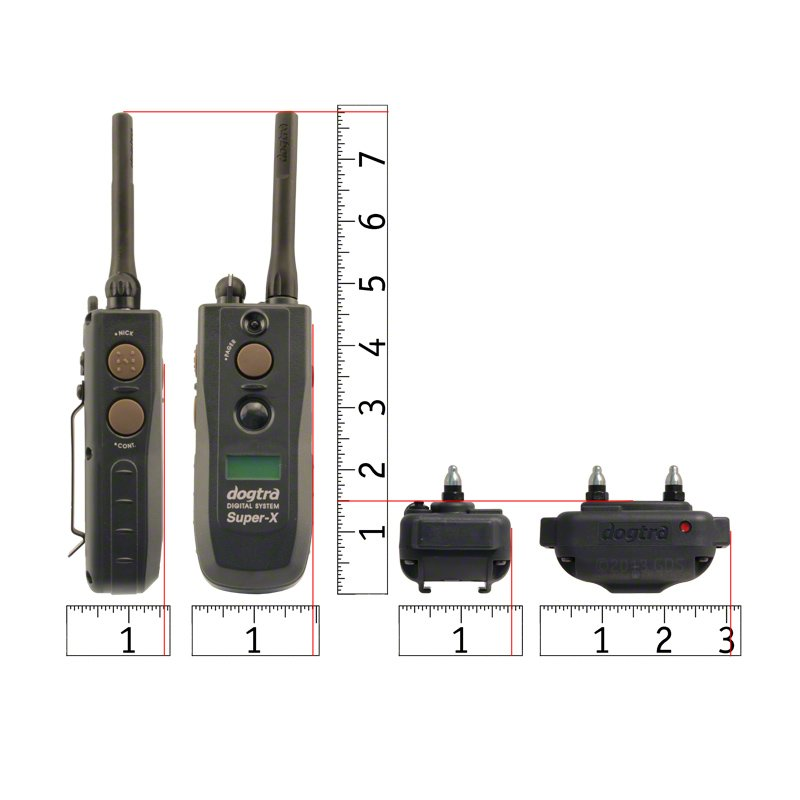 Dogtra 3500 NCP Collar and Transmitter Scaled