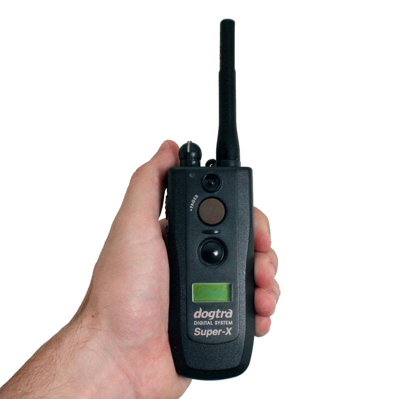 Dogtra 3500 NCP Transmitter in Hand