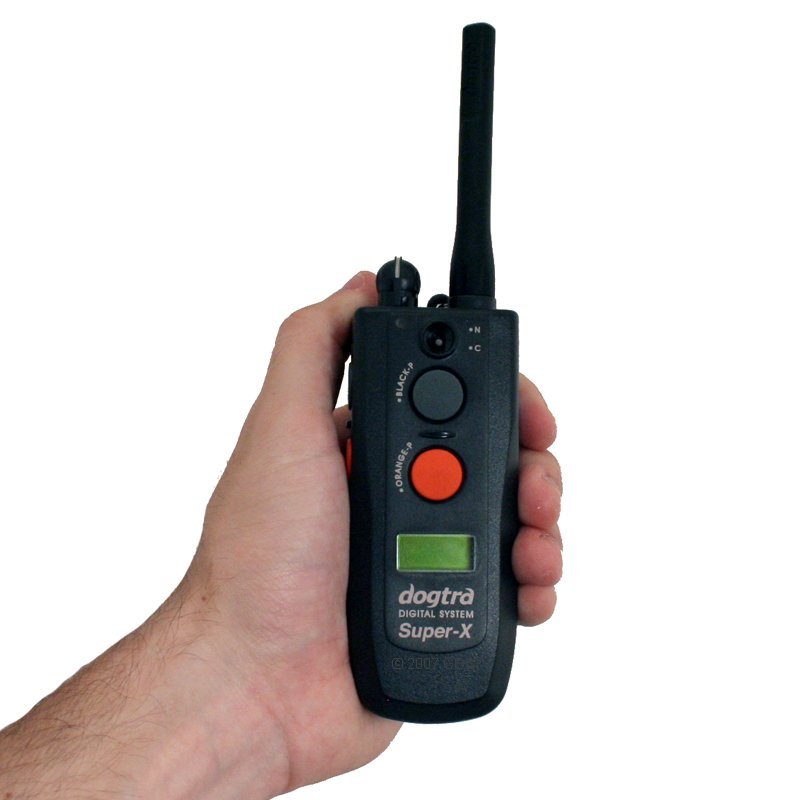 Dogtra 3502 NCP Transmitter in Hand