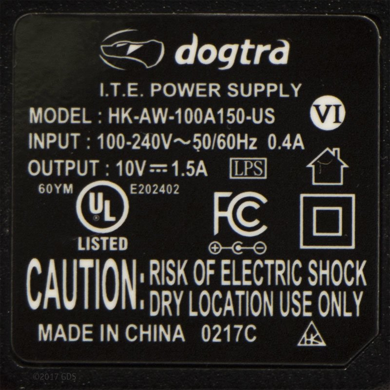 Dogtra ARC Charger Details