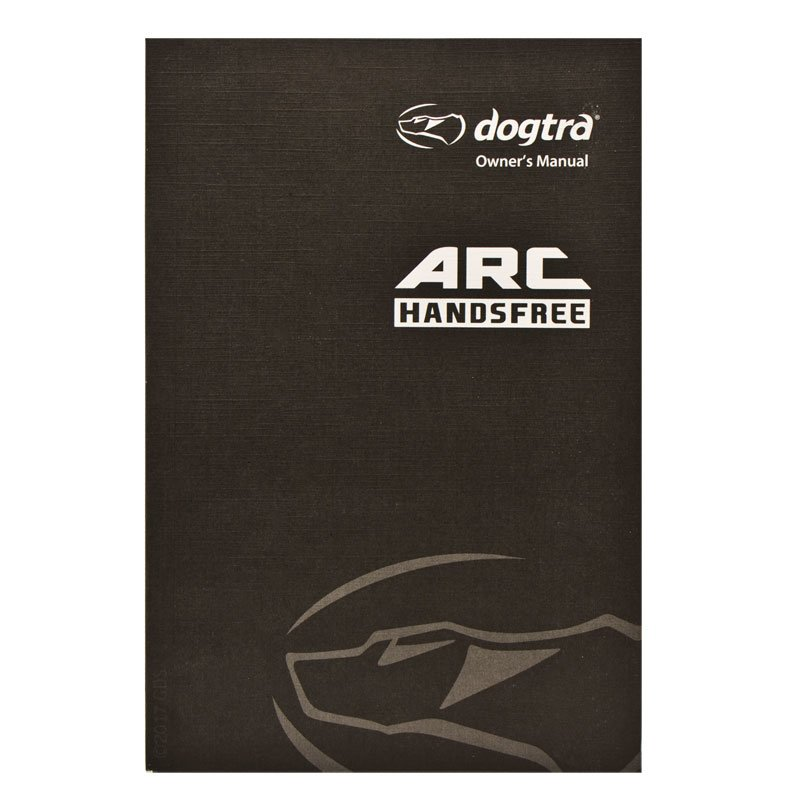 Dogtra ARC Handsfree Manual