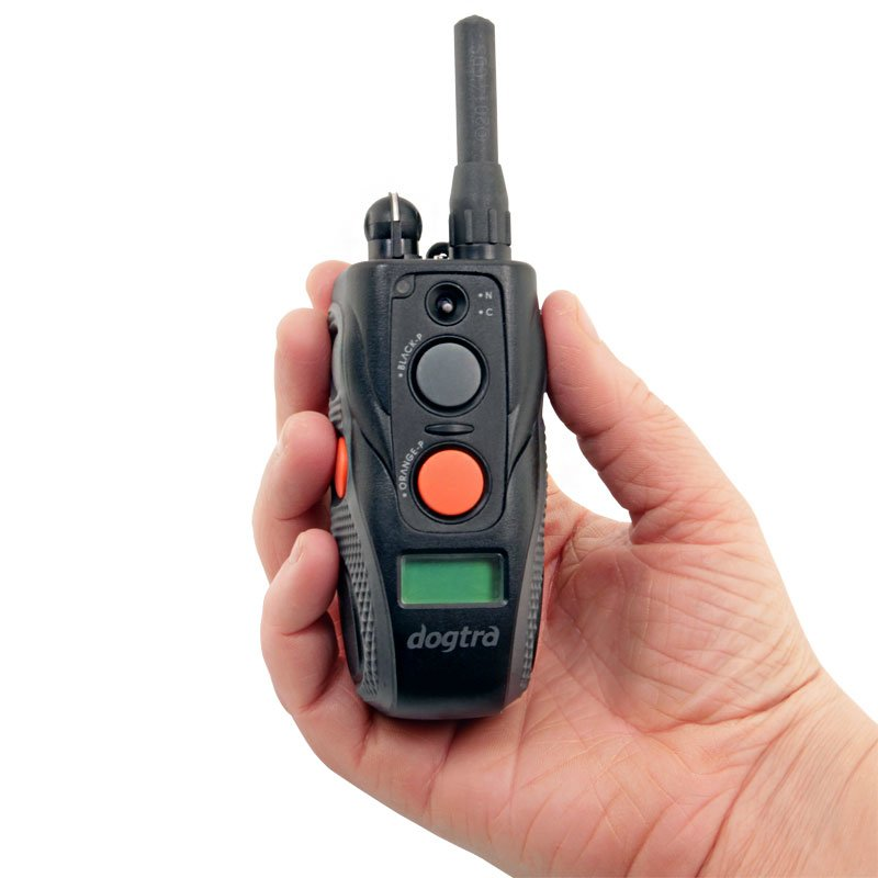 Dogtra ARC Transmitter in Hand
