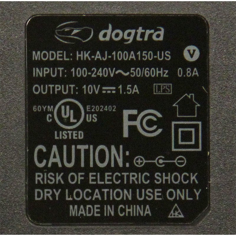 Dogtra ARC Wetlands Charger Detail